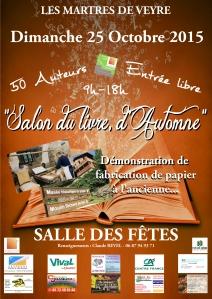 Affiche salon du livre A3